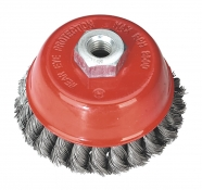Wire Cup Brush, Knot Type