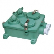 Watertight 3-Pin Twin Receptacle, CZXS