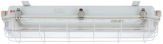Metal Guard for fluorescent ceiling light