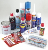 Sealant, Glue, Contact Cleaner