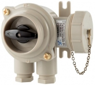 Watertight Receptacle With Switch, CZKS109-3 and CZKS202-3